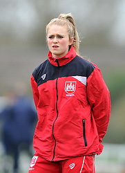 Millie Farrow of Bristol City Women - Mandatory by-line: Paul Knight/JMP - 19/03/2017 - FOOTBALL - Stoke Gifford Stadium - Bristol, England - Bristol City Women v Millwall Lionesses - Women's FA Cup