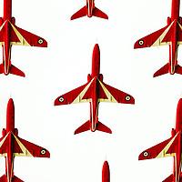 Red Arrows.Photograph David Cheskin/Press Association