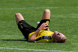 Bad Ragaz, Schweiz 04.08.2016, Trainingslager BV Borussia Dortmund, BVB,  Andre Schuerrle (BVB) am boden  / 040816<br /> <br /> ***Training camp of Borussia Dortmund in Bad Ragaz, Switzerland, August 4th, 2016***