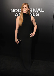The cast of 'Nocturnal Animals' attend a special screening of the Tom Ford film in Los Angeles. 11 Nov 2016 Pictured: Amy Adams. Photo credit: American Foto Features / MEGA TheMegaAgency.com +1 888 505 6342