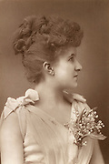 'Lilian Decima, Lady Moore Guggisberg (1871-1964) known as  Decima Moore,  English light opera soprano and actress and suffragette. In 1889 appeared as Casilda in the first performance of Gilbert and Sullivan's ''The Gondoliers'''