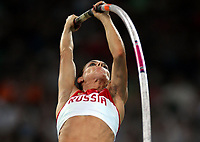 Friidrett Olympiske Leker / OL / 2008 18.08.2008 <br /> <br /> Elena Isinbaeva , Russland i stav