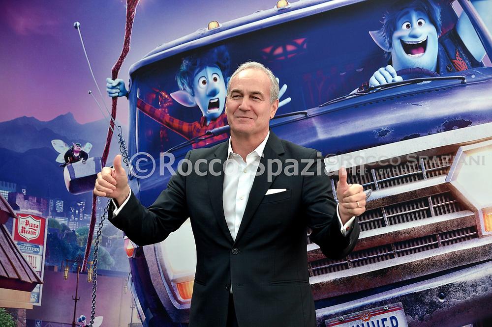 Daniel Frigo during photocall for the presentation of the Disney cartoon Pixar Onward. Rome (Italy), February 25th, 2020