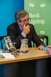 Pictured: Sebastion Barry, author of Days Without End<br /> Book fanatics headed to Charlotte Square in Edinburgh which is the hub of the international Book Festival to meet the authors and also to meet up with fellow fans of the printed word.<br /> <br /> <br /> Ger Harley | EEm 14 August 2017