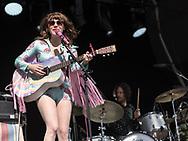 American singer-songwriter Jenny Lewis at Haldern Pop Festival