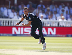 June 29, 2019 - London, United Kingdom - Trent Boult of New Zealand.during ICC Cricket World Cup between New Zealand and Australia at the Lord's Ground on 29 June 2019 in London, England. (Credit Image: © Action Foto Sport/NurPhoto via ZUMA Press)