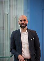 DEU, Deutschland, Germany, Berlin, 02.10.2015: Portrait Ahmed Mansour, Diplom-Psychologe.