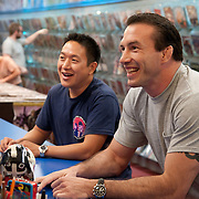 """Nate Quarry and Ming Chen are featured on """"Comic Book Men"""" on AMC"""