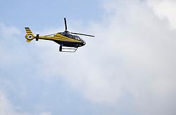 08-06-2011 HOCKEY: NEDERLAND - AZERBEIDZJAN: UTRECHT<br />Helicopter<br />©2011-FotoHoogendoorn.nl