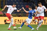 Robert Lewandowski Poland, Jorginho Italy.<br /> Bologna 07-09-2018 <br /> Football Calcio Uefa Nations League <br /> Italia - Polonia / Italy - Poland <br /> Foto Andrea Staccioli / Insidefoto