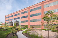Exterior image of  MOB 4 at Inova Fair Oaks Hospital in Virginia by Jeffrey Sauers of Commercial Photographics, Architectural Photo Artistry in Washington DC, Virginia to Florida and PA to New England