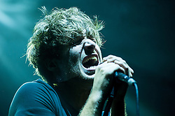© Licensed to London News Pictures. 31/05/2014. Brighton, UK. Paolo Nutini plays Brighton Centre. Picture Shows: Paolo Nutini. Photo credit : Julie Edwards/LNP