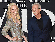 """13 February 2020 - Hollywood, California - Chris Sanders and Wife Jessica Steele-Sanders at the World Premiere of twentieth Century Studios """"The Call of the Wild"""" Red Carpet Arrivals at the El Capitan Theater."""