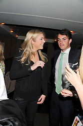 CHELSY DAVY and VISCOUNT ERLEIGH at the Beulah AW13 Showcase, Bungalow 8 LFW Pop-Up at Belgraves - A Thompson Hotel, 20 Chesham Place, London SW1 on 13th February 2013.