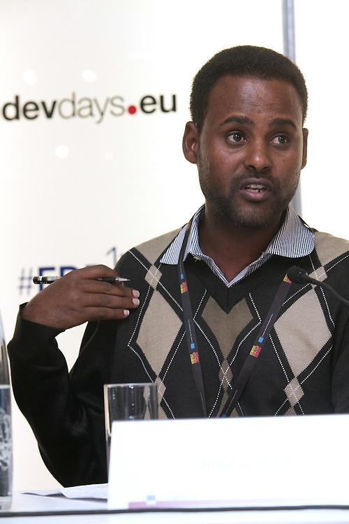 03 June 2015 - Belgium - Brussels - European Development Days - EDD - Food - Small-scale farming and sustainable food systems - Jima Gobena , Project coordinator , Vicariate of Meki , Ethiopia © European Union