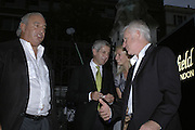 SIR PHILIP GREEN, STUART ROSE, JENNY HALPERN AND DAVID SLADE, Westfield launch at the BFC tent prior toLondon Fashion week. 17 September 2006. ONE TIME USE ONLY - DO NOT ARCHIVE  © Copyright Photograph by Dafydd Jones 66 Stockwell Park Rd. London SW9 0DA Tel 020 7733 0108 www.dafjones.com