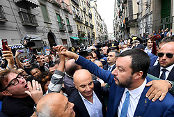 Italy, Naples - October 2, 2018.The Italian Interior Minister Matteo Salvini (Credit Image: © Stefano Renna/Ropi via ZUMA Press)