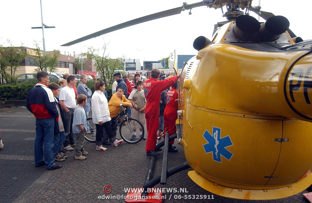 Ongeval Zuiderzee - Bestevear Huizen, traumaheli