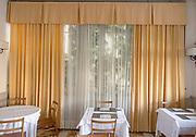 Italy, Como Bellagio, luch room in hotel