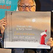 NLD/Amsterdam/20101115 - Presentatie Douwe Egberts Sinterklaasboeken Openbare Bibliotheek Amsterdam,  Youp van 't Hek