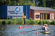 Poznan, POLAND, 20 June 2019, Thursday, Morning Practice Session, FISA World Rowing Cup II, Malta Lake Course, © Peter SPURRIER/Intersport Images,<br /> <br /> 09:27:03