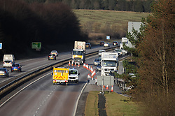 Police RTC on the A92<br /> <br /> Police block the off slip at Cowdenbeath<br /> <br /> (c) David Wardle | Edinburgh Elite media