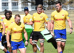 Cape Town-180911- Western Province players practising some tackles during a training session at the Bellville HPC.The team will be traveling to Johannesburg to face the Xerox Lions on saturday  .Photographs:Phando Jikelo/African News Agency/ANA