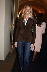 MRS SEB BISHOP she was model Heidi Wichlinski <br /><br />at a party to celebrate the 10th anniversary of Jo Malone the perfumer held at The Banquetting House, Whitehall, London on 21st October 2004.<br /><br /><br /><br />NON EXCLUSIVE - WORLD RIGHTS
