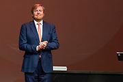 HILVERSUM, 30-06-2021, Theater Gooiland <br /> <br /> Koning Willem Alexander en Koningin Maxima reiken  in Hilversum de groeicertificaten uit aan de tweeëntwintig deelnemende organisaties van de vierde editie van het Oranje Fonds Groeiprogramma. De organisaties hebben succesvol de vierde editie van het Groeiprogramma dat liep van maart 2017 tot en met april 2021 doorlopen. <br /> <br /> King Willem Alexander and Queen Maxima will present the growth certificates in Hilversum to the twenty-two participating organizations of the fourth edition of the Orange Fund Growth Programme. The organizations successfully completed the fourth edition of the Growth Programme, which ran from March 2017 to April 2021.