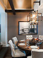 A condo on the Songhees Walkway in Victoria, BC is renovated to reflect a gracious style of living.