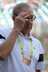 March 23, 2019 - Miami Gardens, Florida, United States Of America - MIAMI GARDENS, FLORIDA - MARCH 23:  Steven Ross day 6 of the Miami Open Presented by Itau at Hard Rock Stadium on Saturday on March 23, 2019 in Miami Gardens, Florida..People: Steven Ross. (Credit Image: © SMG via ZUMA Wire)