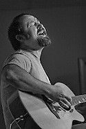 Brent Allen, local musician in Sisters, Oregon.  2013