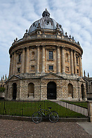 The Radcliffe Camera Durung Lockdown 2020,The Radcliffe Camera  is a building of Oxford University, England, designed by James Gibbs in neo-classical style and built in 1737–49 Photo by Brian Jordan