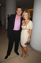 DUNCAN BANNATYNE and his wife JOANNE at 'Not Another Burns Night' in association with CLIC Sargebt and Children's Hospice Association Scotland held at ST.Martins Lane Hotel, London on 3rd March 2008.<br />