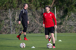 January 6, 2018 - Cadiz, SPAIN - Mouscron's Jeremy Huyghebaert pictured during the first day of the winter training camp of Belgian first division soccer team Royal Excel Mouscron, in Cadiz, Spain, Saturday 06 January 2018. BELGA PHOTO BRUNO FAHY (Credit Image: © Bruno Fahy/Belga via ZUMA Press)