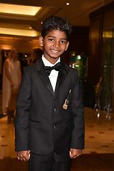 Sunny Pawar at The Asian Awards, The Hilton Park Lane, London England. 5 May 2017.<br /> Photo by Dominic O'Neill/SilverHub 0203 174 1069 sales@silverhubmedia.com