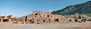 Taos Pueblo panoramic, New Mexico