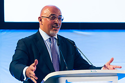 Children's Minister Nadhim Zahawi MP addresses the audience at the launch of the Children's Future Food Inquiry at Church House in Westminster. London, April 25 2019.