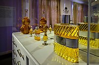 France, Manche (50), Granville, maison de Christian Dior transformée en musée, parfum Dior // France, Normandy, Manche department, Granville, Christian Dior museum, Dior parfum