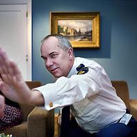 Nederland, Amsterdam , 2 januari 2012..Pieter Jaap Aalbersberg, nieuwe korpschef van de politie in Amsterdam..Foto:Jean-Pierre Jans