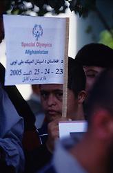 SPECIAL OLYMPICS AFGHANISTAN 2005..Kabul, 23 August 2005