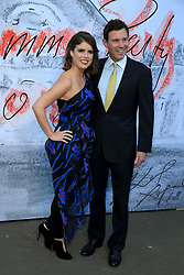 attends the Serpentine Summer Party in London, UK. 19 Jun 2018 Pictured: Princess Eugenie and Jack Brooksbank. Photo credit: Fred Duval/MEGA TheMegaAgency.com +1 888 505 6342