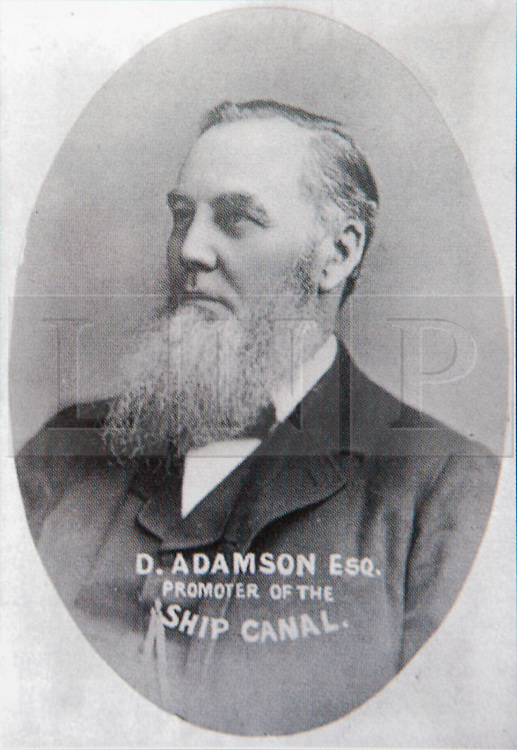 """© Licensed to London News Pictures. 04/05/2016. Birkenhead UK. Collect picture shows Daniel Adamson who is the namesake of the Daniel Adamson boat. The Daniel Adamson steam boat has been bought back to operational service after a £5M restoration. The coal fired steam tug is the last surviving steam powered tug built on the Mersey and is believed to be the oldest operational Mersey built ship in the world. The """"Danny"""" (originally named the Ralph Brocklebank) was built at Camel Laird ship yard in Birkenhead & launched in 1903. She worked the canal's & carried passengers across the Mersey & during WW1 had a stint working for the Royal Navy in Liverpool. The """"Danny"""" was refitted in the 30's in an art deco style. Withdrawn from service in 1984 by 2014 she was due for scrapping until Mersey tug skipper Dan Cross bought her for £1 and the campaign to save her was underway. Photo credit: Andrew McCaren/LNP ** More information available here http://tinyurl.com/jsucxaq **"""