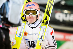 22.02.2016, Puijo, Kuopio, FIN, FIS Weltcup Ski Sprung, Kuopio, Teamspringen, im Bild Severin Freund (GER) // Severin Freund of Germany during Mens Teamevent of Kuopio FIS Skijumping World Cup at the Puijo in Kuopio, Finland on 2016/02/22. EXPA Pictures © 2016, PhotoCredit: EXPA/ Tadeusz Mieczynski