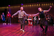 Jumptown Swing hosts the Madison Invasion swing competition event at The Overture Center in Madison, Wisconsin on March 4, 2017. <br /> <br /> Beth Skogen Photography - www.bethskogen.com