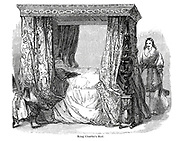 King Charles's Bed From the book The wanderings of a pen and pencil by Palmer, F. P. (Francis Paul); Illustrated by Crowquill, Alfred, [Alfred Henry Forrester]  Published in London by Jeremiah How in 1846