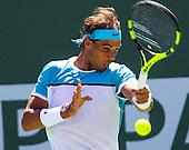 Tennis: BNP Paribas Open 2016 Kei Nishikori vs Rafael Nadal