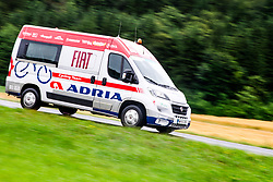Broom wagon - metla during 5th Stage of 26th Tour of Slovenia 2019 cycling race between Trebnje and Novo mesto (167,5 km), on June 23, 2019 in Slovenia. Photo by Matic Klansek Velej / Sportida