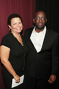 September 20, 2012- New York, New York:  (L-R) Stacy Spikes, Founder, Urbanworld Film Festival and Debra Lee, President & CEO, BET Networks attend the 2012 Urbanworld Film Festival Opening night premiere screening of  ' Being Mary Jane ' presented by BET Networks held at AMC 34th Street on September 20, 2012 in New York City. The Urbanworld® Film Festival is the largest internationally competitive festival of its kind. The five-day festival includes narrative features, documentaries, and short films, as well as panel discussions, live staged screenplay readings, and the Urbanworld® Digital track focused on digital and social media. (Terrence Jennings)