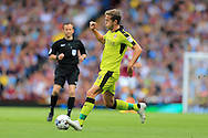 Will Vaulks of Rotherham Utd in action. EFL Skybet championship match, Aston Villa v Rotherham Utd at Villa Park in Birmingham, The Midlands on Saturday 13th August 2016.<br /> pic by Andrew Orchard, Andrew Orchard sports photography.